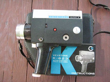 Keystone Movie Camera K-623, View 2